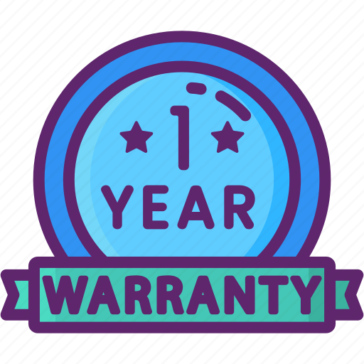 1 year, warranty, year icon - Download on Iconfinder