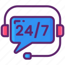 24/7, customer, desk, help, support