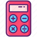 calculator, math, office, stationary