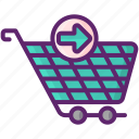 cart, checkout, full, shopping