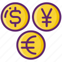 currency, exchange, foreign