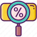 code, discount, percentage icon