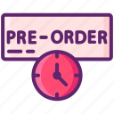 order, pre, preorder, time