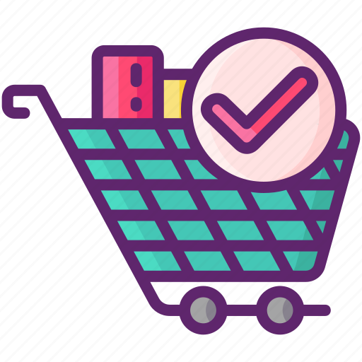 Cart, full, ready, stock icon - Download on Iconfinder
