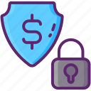 encrypted, payment, secure icon