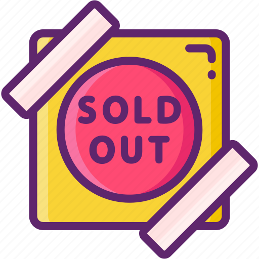 Out, sign, sold icon - Download on Iconfinder on Iconfinder