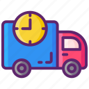 delivery, shipping, standard icon
