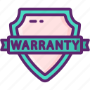 period, warranty icon