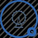 amusement, ferris, monument, wheel icon