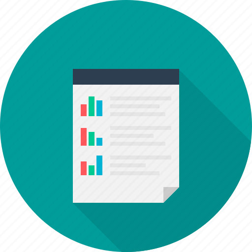 analysis, document, report, reporting, research icon