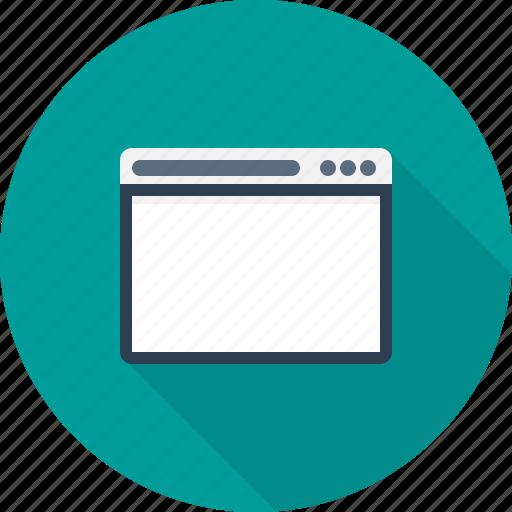broswer, digital, internet, technology, web icon