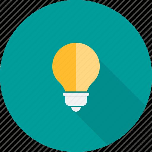bulb, concept, creative, idea, light icon