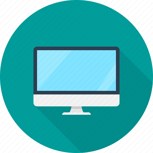 computer, desktop, hardware, monitor, pc, screen icon