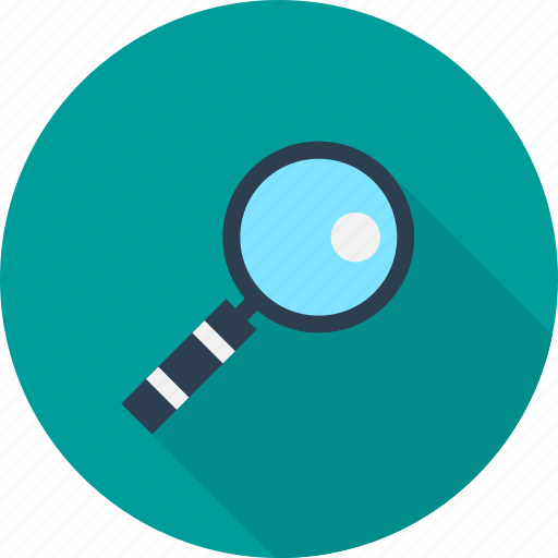 Find, locate, magnifier, research, search icon - Download on Iconfinder