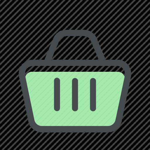 basket, buy, cart, cesta, ecommerce, shop, store icon