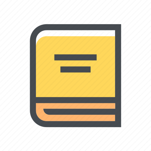 book, education, notebook, school, student, study icon