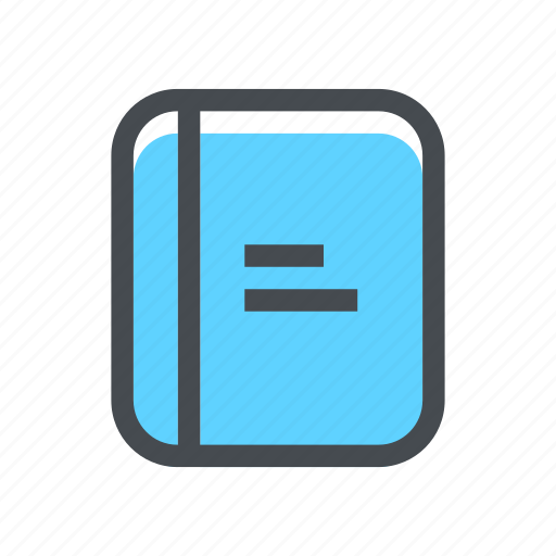 Study, book, notebook, student, school, education, learning icon