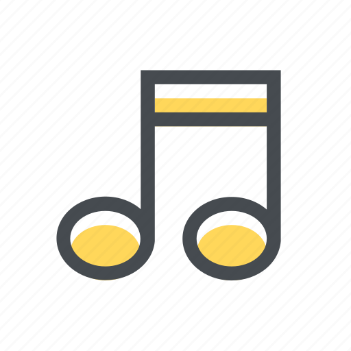 audio, file, music, musical, note, sheet, song icon