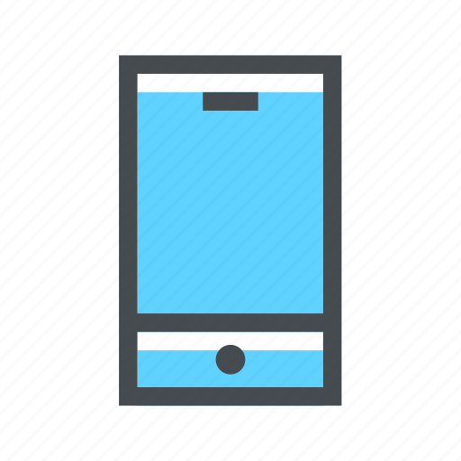 cel, celular, device, minimalist, mobile, smartphone icon