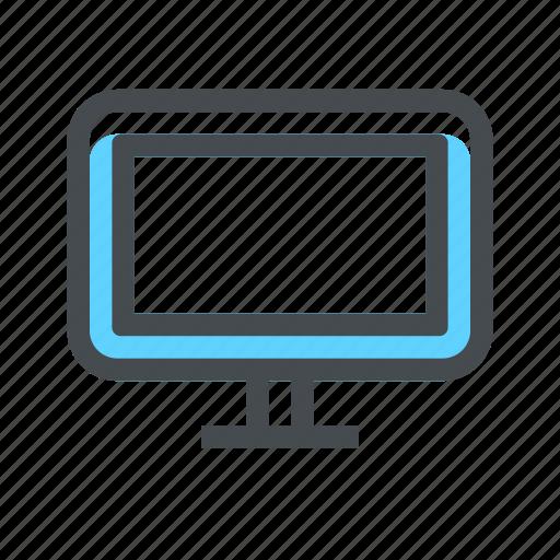 computer, device, monitor, televisao, television, tv icon