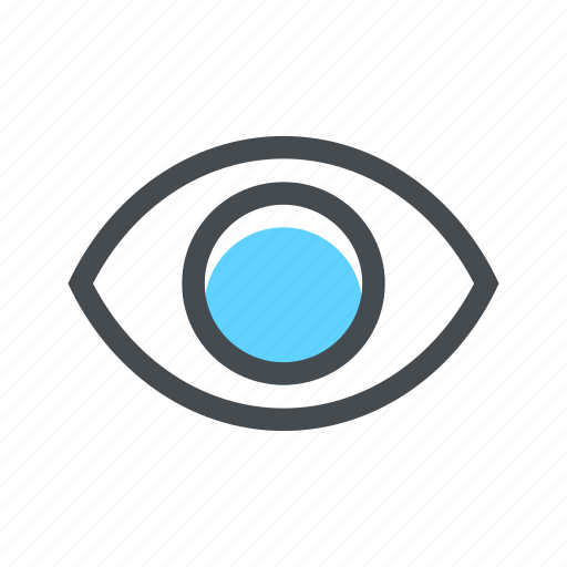 eye, find, search, show, view, vision, zoom icon
