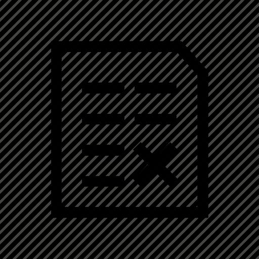 file, log, logs, no, register, wrong icon