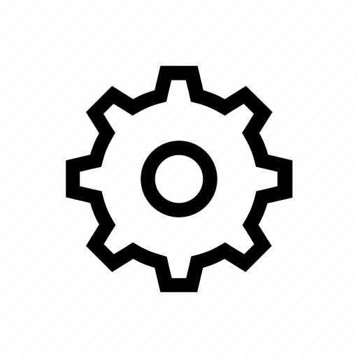 config, configuration, edit, gear, settings icon