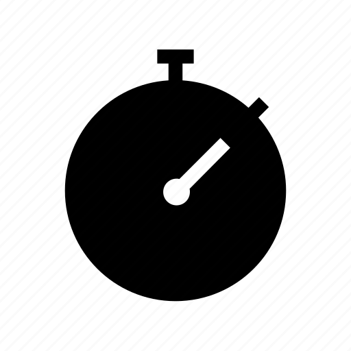 chronometer, stopwatch icon