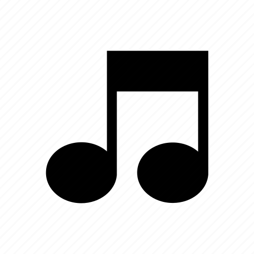 music, musical, note, sheet, song icon