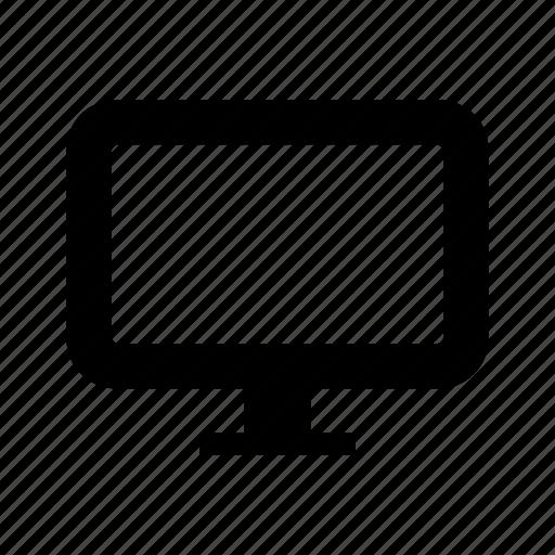 computer, monitor, televisao, television, tv icon