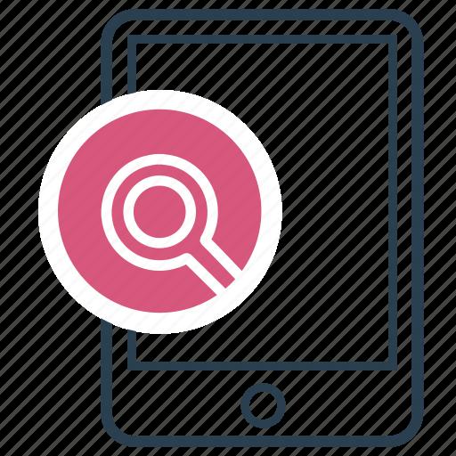 explore, find, learn, locate, search icon