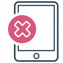 banned, error, failed, forbidden, unsuccessful, wrong icon