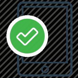achieve, checked, ok, ticked, verified icon