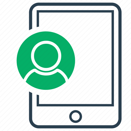 administrator, online, portfolio, profile, user icon