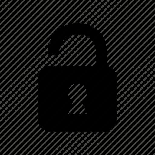 lock, unlock, unlocked icon