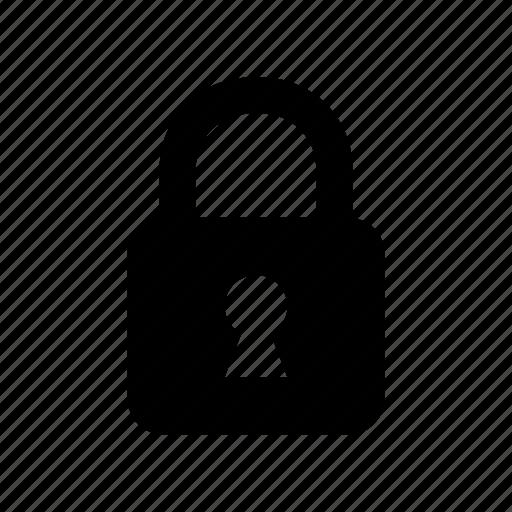 lock, locked, padlock icon