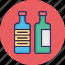 beverage, breakfast, food, liquor food, milk bottles icon