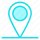 gps, location, map, navigation, pinicon icon