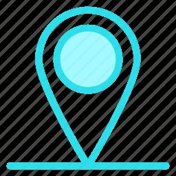 gps, location, map, navigation, pinicon icon