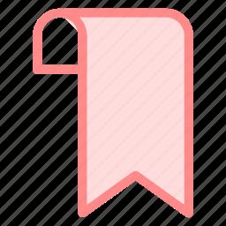 bookmark, flag, mark, markericon icon