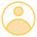 account, person, profile, usericon