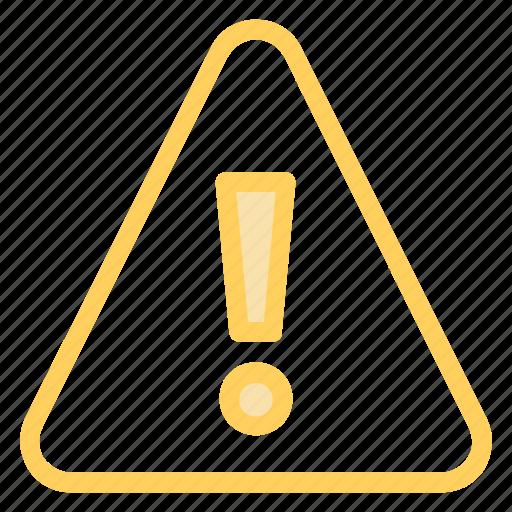 alert, caution, error, warningicon icon