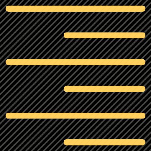 align, paragraph, right, texticon icon