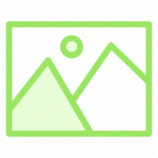art, frame, image, pictureicon icon