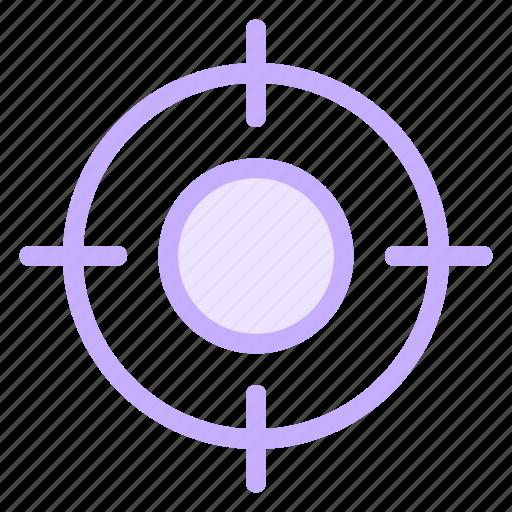 aspirations, businessgoal, focus, targeticon icon