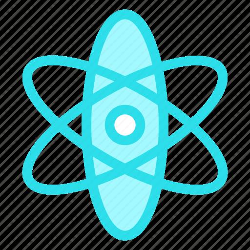 atom, atomic, chemistry, scienceicon icon