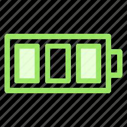 battery, batterystatus, full, fullbattery, fulllevelicon icon