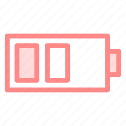 battery, batterystatus, low, lowbattery, lowlevelicon icon