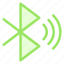 bluetooth, connect, sync, waveicon icon