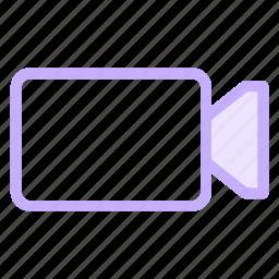 camera, cinema, movie, videoicon icon